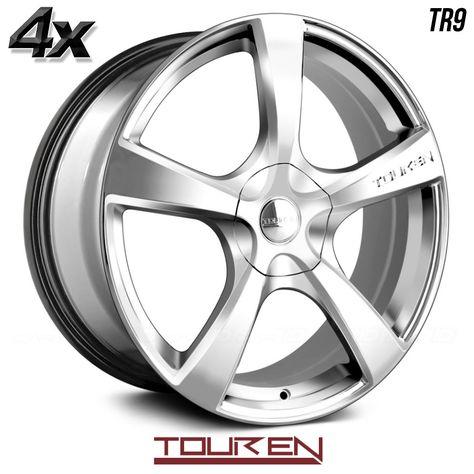 18x8//5x110mm Touren TR60 3260 Wheel with Gunmetal Finish