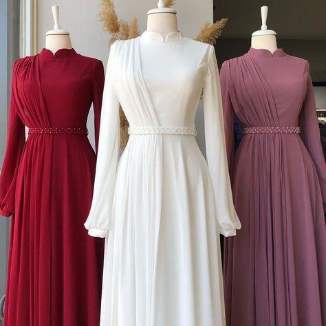 63 Gamis Pesta Dan Kondangan Ideas In 2021 Dress Brokat Muslimah Dress Hijab Dress Party
