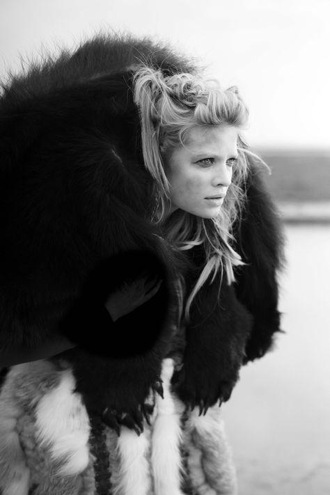 Melanie Thierry by Mathieu César #fashion #photography