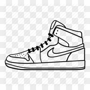 Footwear Keds Nike Run Shoe Shoes Sneaker Icon Nike Shoe Drawing Full Size Png Clipart Images Download Sneakers Icon Shoes Shoes Drawing