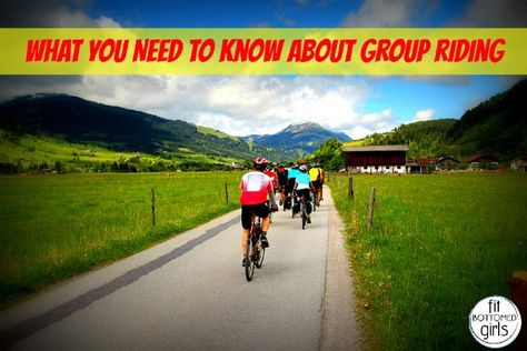 Thinking of joining a group bike ride? Here's everything you need to know before your first group cycling experience.