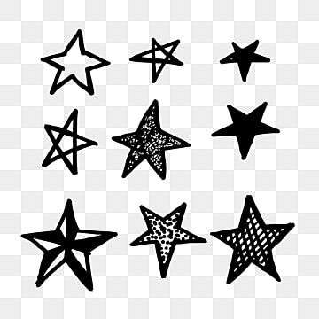 Hand Drawn Doodle Star Icon Star Clipart Star Icons Hand Icons Png And Vector With Transparent Background For Free Download Doodle Images Star Doodle Doodle Background