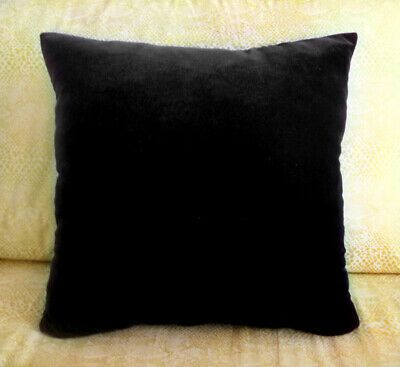 Velvet Pillow 12x12 Inches New Small Soft Ameynra Home Decor 8 Colors Available Ebay Velvet Pillows Pillows Throw Pillows