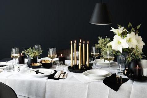 Tischdeko Fur Weihnachten Schoner Wohnen Deko Weihnachten Tisch Tisch Eindecken Gedeckter Tisch