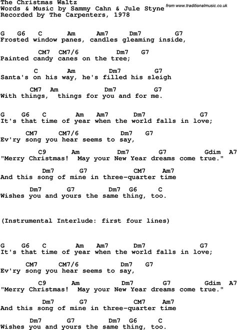 Christmas Waltz Chords.Pin On Arts Crafts I Wanna Try