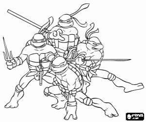 Risultati Immagini Per Disegni Delle Tartarughe Ninja Tartarughe