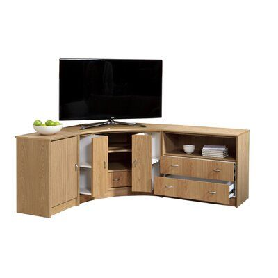 Degroat Corner Tv Stand For Tvs Up To 50 In 2020 Corner Tv