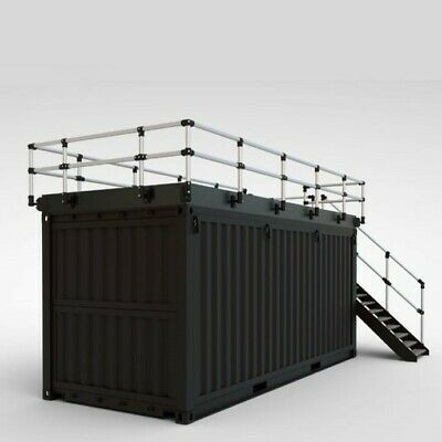 Details About Shipping Container Kiosk Cafe Coffee 160 Sq Ft Shipping Container Container Cafe Shipping Container Cafe