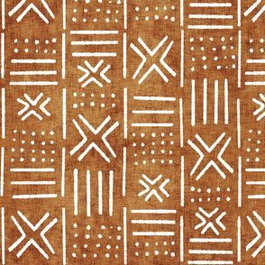 Colorful fabrics digitally printed by Spoonflower - rust mudcloth fabric - mud cloth fabric, mudcloth wallpaper, home decor Textures Patterns, Fabric Patterns, Print Patterns, Modern Patterns, Curtain Patterns, Design Patterns, Loom Patterns, African Tribal Patterns, Motifs Textiles