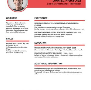 Create Your Own Resume Using Our Free Microsoft Word Resume