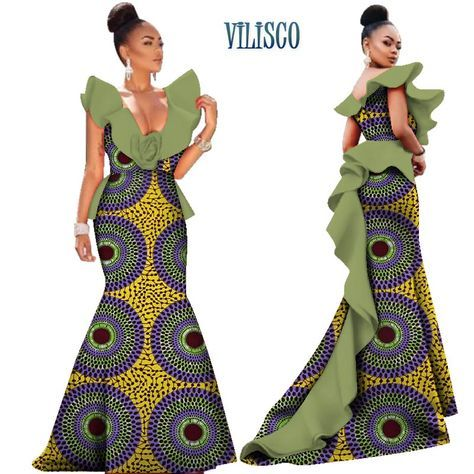 6b23f907de Cheap Dresses, Buy Directly from China Suppliers:African Print ...
