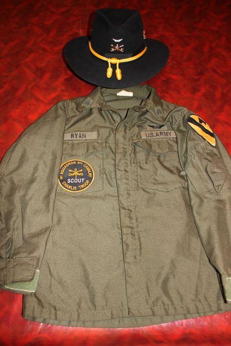 1-9 Cav.  C Troop, Door Gunner Uniform
