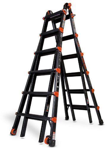 Ladders 112567 26 1a Little Giant Ladder Pro Series W Wheels