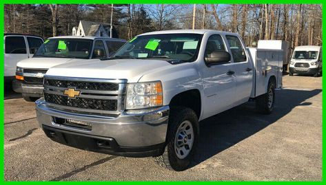 Ebay Advertisement 2011 Chevrolet Silverado 3500 Work Truck 2011