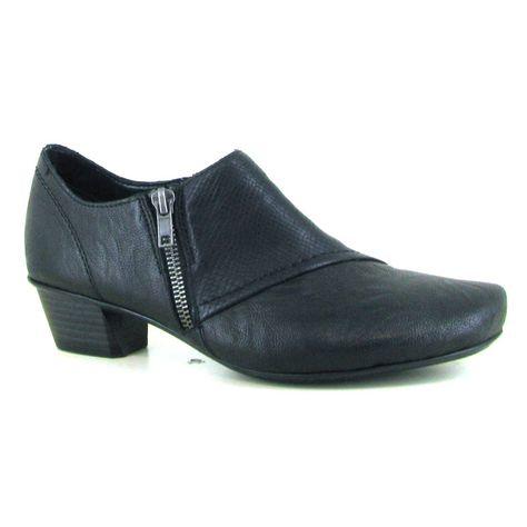 Women's Ecco Aquet Lace Sneaker Black