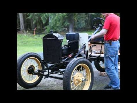 1926 Model T Ford First Start And Drive Youtube Model T