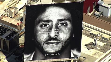 d460c8a590c11 Pin by Colin Kaepernick Fan on Colin Kaepernick  Nike Ad Campaign ...