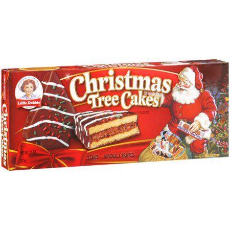 Little Debbie Family Pack Christmas Tree Cakes Chocolate Snack Cakes 7 91 Oz Walmart Com Snack Cake Christmas Tree Chocolates Tree Cakes