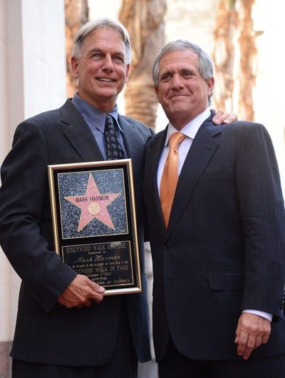 Mark Harmon Receives Walk Of Fame Star Walk Of Fame Police Dramas Chicago Hope
