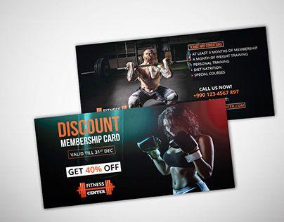 Gym Discount Voucher Template Gymvoucher Fitnessvoucher Giftvoucher Discountvoucher Coupon Giftcoupon Discou Voucher Design Gym Discounts Coupon Design