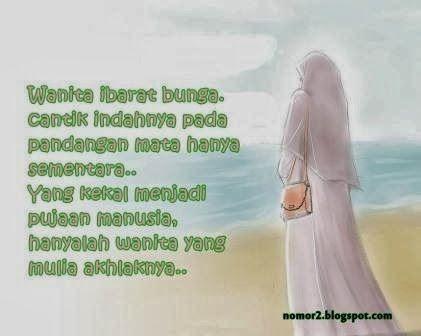 Check It Out Gambar Pesan Islami Untuk Muslimah Muslim Quotes Check It Out Muslimah