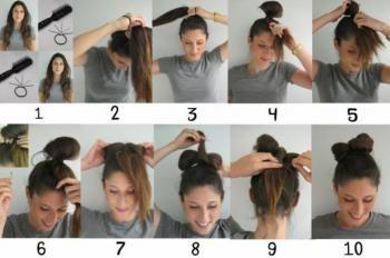 Tuto Coiffures Noeud Lady Gaga Coiffures Gaga Lady Noeud Tuto Tuto Coiffure Diy Hairstyles Coiffure