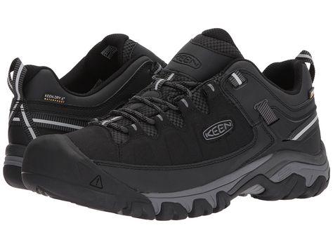 d8ff640663c Keen Targhee Exp WP Men's Shoes Black/Steel Grey   Products   Mens ...