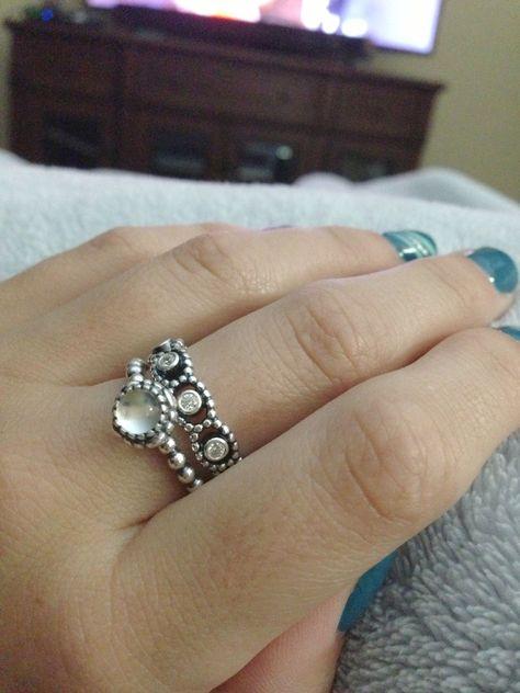 c8f4ab82e Pandora Rings Linked Love Pandora Silver Celebration Ring