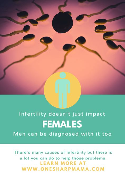 when you male infertility means