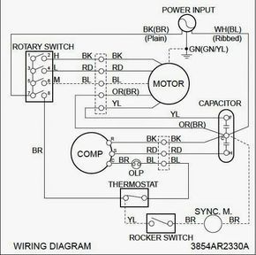 Electrical Wiring Diagrams For Air Conditioning Systems Part Two Electrical Knowhow Electrical Wiring Diagram Ac Wiring Air Conditioning System