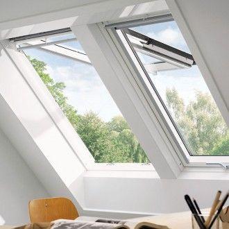 Velux Dachfenster Gpl 2070 Klapp Schwingfenster Holz Thermo Weiss Fenster In 2020 Velux Fenster Schwingfenster Dachfenster