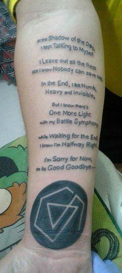 George Phillip Palanca Roxas Linkin Park Linkin Park