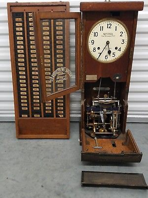 Antique National Time Recorder Factory