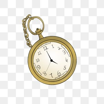 Yellow Pocket Watch Hand Painted Pocket Watch Pocket Watch