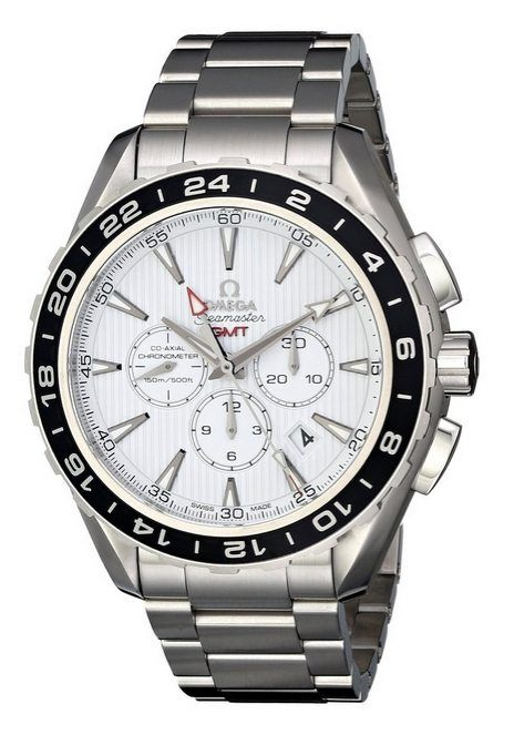 Men's Wrist Watches - Omega Mens 23110445204001 Seamaster Aqua Terrra Stainless Steel Watch >>> Read more at the image link.