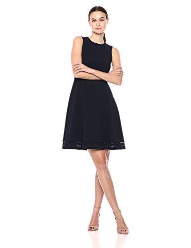 ROSIANNA Abiti Corti da Donna Monospalla Bodycon con Maniche 3 4 Taglie  Comode (XXXL Black)  f92e56e429c