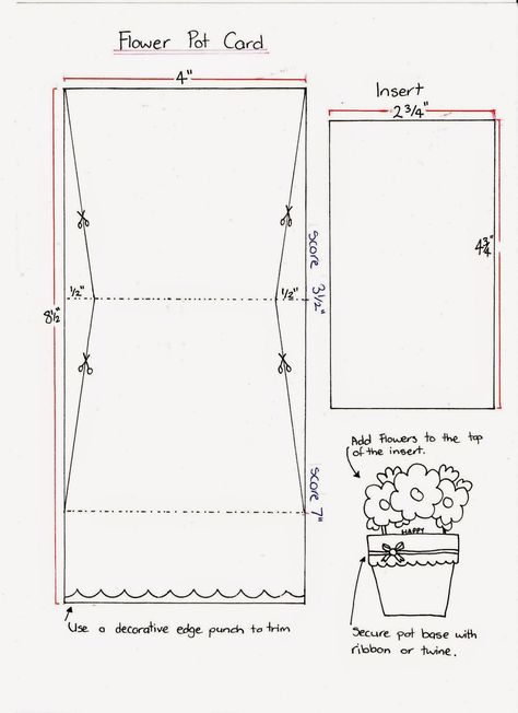 Ideas for scrapbookers flower pot card tutorial cards pinterest ideas for scrapbookers flower pot card tutorial cards pinterest card tutorials tutorials and flower ccuart Image collections