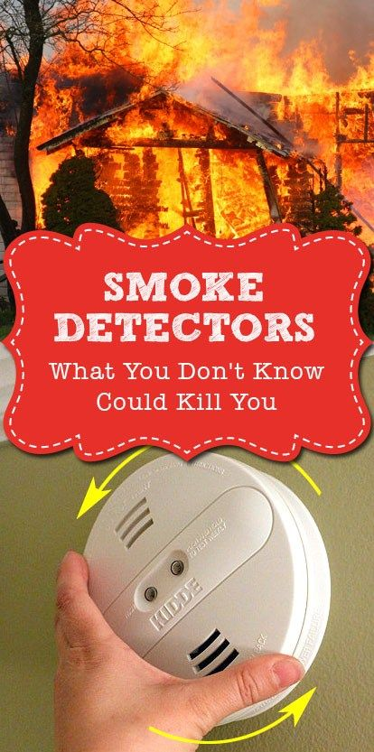 Smoke Detectors What You Don T Know Could Kill You Smoke Home