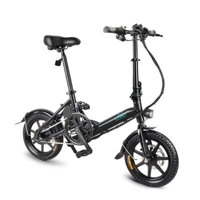 Fiido D3 Smart Folding Electric Bicycle Moped E Bike Mini Aluminum