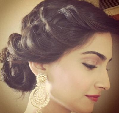Punjabi Wedding Hairstyles For Short Hair Rambut Dan Kecantikan Rambut Panjang Rambut
