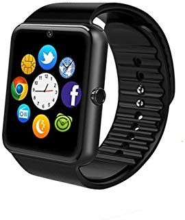 Gt08 Bluetooth Smart Watch For Android Phones Smart Watch With Sim Card Slot Call Massage For Ios Iphone And Android P Smart Watch Blackberry Phones Technology