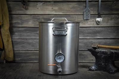 249 Anvil Brewing Equipment S 10 Gal Kettles Are As Durable As They Get Includes Clad Bottom Etched Level G Brewing Equipment Home Brewing Beer Home Brewing