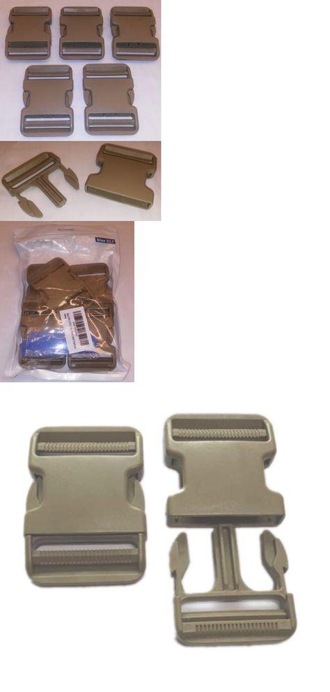 50-1//2 Inch YKK Safety Flat Side Release Plastic Buckles