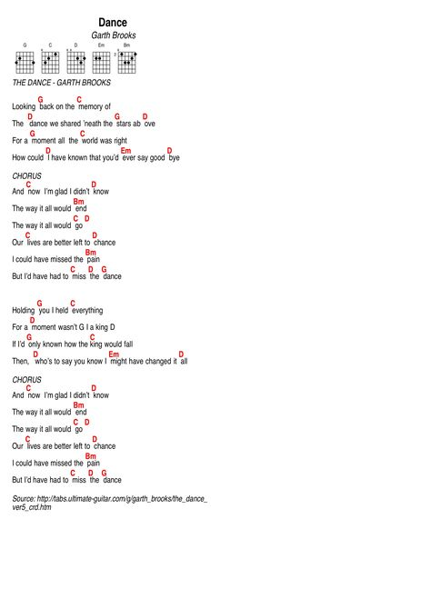 Garth Brooks Song Learnin To Live Again Lyrics And Chords Guitar