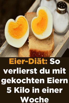 mit gekochten eiern abnehmen