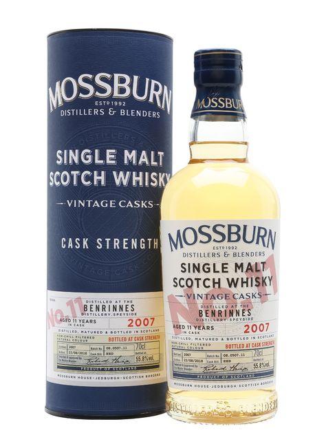 Benrinnes 2007 - 11 Year Old - Vintage Casks #11 - Mossburn Scotch Whisky : The Whisky Exchange