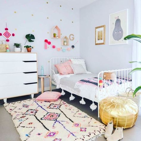 Best of Project Nursery Instagram: Big Girl Boho Room