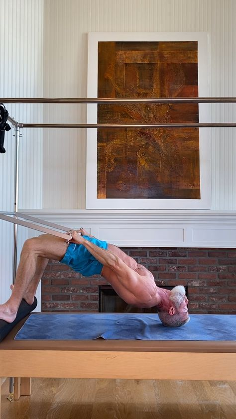 Pilates is a specialized and highly effective series of exercises – originally developed for male police officers and soldiers, and later for sports injury rehabilitation. Here's why it helps – and what you need to know to begin in Pilates.  #pilates #menshealth #over50 #workout #stronger #overfiftyandfit #exercises #rehabilitation #fat #muscle #fitness