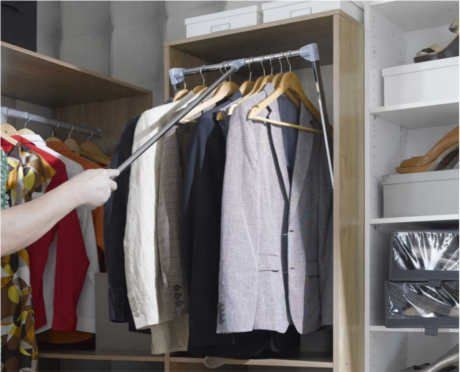 9 Idees De Dressing Dressing Chambre Amenagement Placard Penderie Escamotable