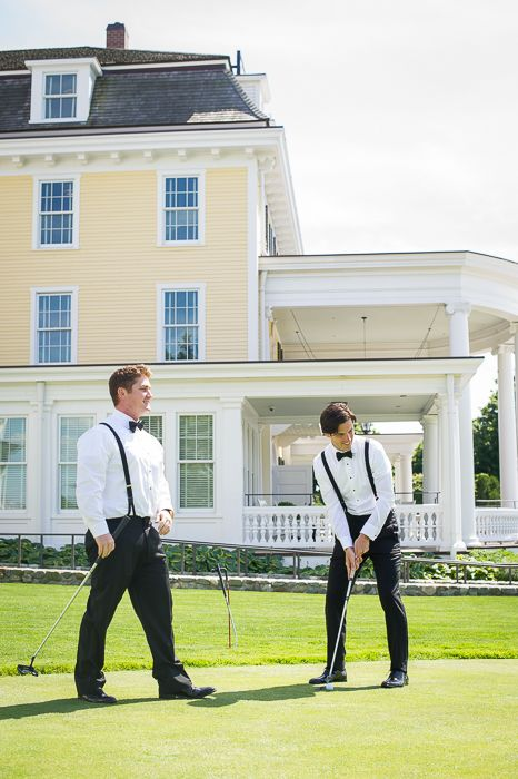 Christina And Lee S Rhode Island Wedding At The Ocean House Pinterest Weddings